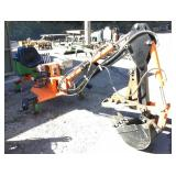 Custom Built Backhoe Electric Over Hydraulic
