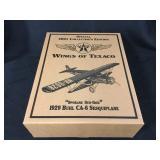 6 Wings of Texaco Spokane Sun God Sesquiplanes