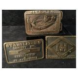 Solid Brass Belt Bucks USA