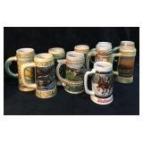 10 Stein Beer Mugs