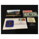 Jimmy Carter Commemorative Coin, Bicentennial $2