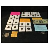 Roosevelt Dimes, Foreign Coins, Barr Note,