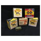 Vintage Cartridge Ammo Boxes