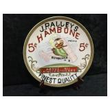 J. Palley's Hambone Cigars Collectors Plate