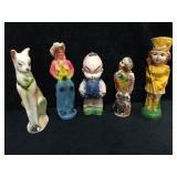 Tall Ceramic Statues