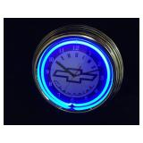 3 Chevrolet Neon Clocks