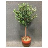 Olive Tree Home Decor in Clay Pot