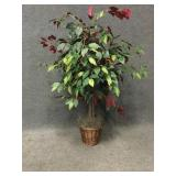 Home Decor Tree with Basket