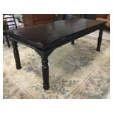 Carved Wood Dining Table