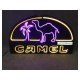 Neon Camel Cigarettes Sign