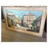 Signed Painting on Canvas - Arthur Clough
