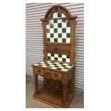 Checkerboard Tiled Baker