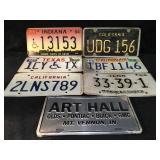 7 License Plates