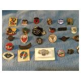 Quantity of Vintage Collectible Pins