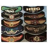 Vintage Harley Davidson/HOG Patches
