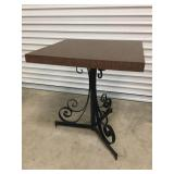Square Iron Based Table