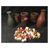 Dice Cups &  a Variety of Dice