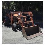 Kubota M4000 2640 QT Front Loader Diesel Tractor