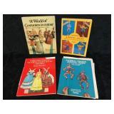 4 Paper Cutout Books