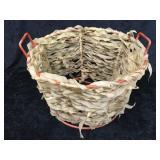 Wrapped Metal Basket