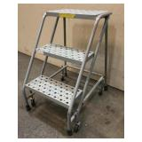 Rolling 3 Step Stool