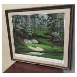 Painting of 12th Hole at Augusta National