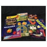 Misc Produce/ Fruit Packaging Labels