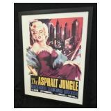 Framed The Asphalt Jungle Movie Poster
