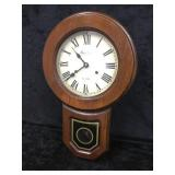 Montgomery Ward & Co Wood Clock