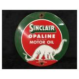 Sinclair Motot Oil Round Sign