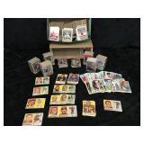 Great Selection of Football & Baseball Cards