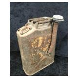 """U.S. Military 1968 """"Jerry Can"""" and Spout"""
