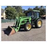 John Deere 5520 4x4 89hp Diesel Tractor