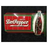 Dr. Pepper  Double Sided Sign