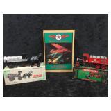 3 Misc Texaco Tanker, Truck & Plane Coin Banks