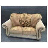 Love Seat with Pillows