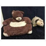 2- Misc Dog Pillow Pet & Bear Pillow Chair