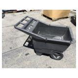 Black Garden Cart
