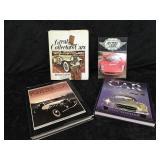 4 Car Enthusiasts Hard Back Books