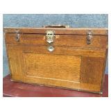 Gerstner Sons Oak Mechanist Tool Box