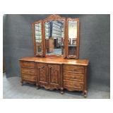 Bernhardt Buffet Dresser w/ Mirror