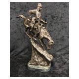 """""""The Mountain Man"""" - Frederic Remington Bronze"""