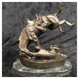 Wicked Pony Bronze Sculpture - Frederic Remington