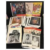 Misc Lot of Dodger Booklets, Portraits, Score