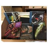 Box of Misc Fishing, Cooking Books & More!