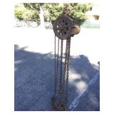 Large Chain Pulley