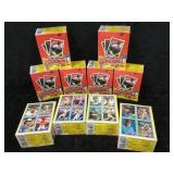 10- Unopened Topps 1988 Boxes of Baseball Cards