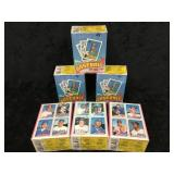 12- Unopened Topps 1986 Boxes of Baseball Cards