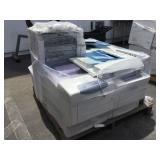 Pallet of Various Printers