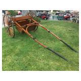 Single Horse Drawn Single Axle Cart